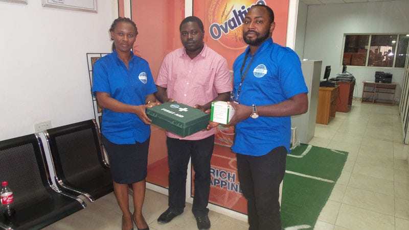 Basic First Aid Training for New Homes Product Industries Limited Makers of Ovaltine