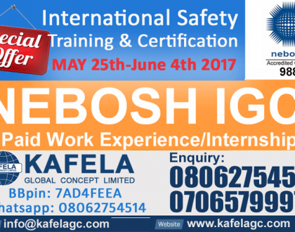 Best NEBOSH Accredited Training Centre In Nigeria