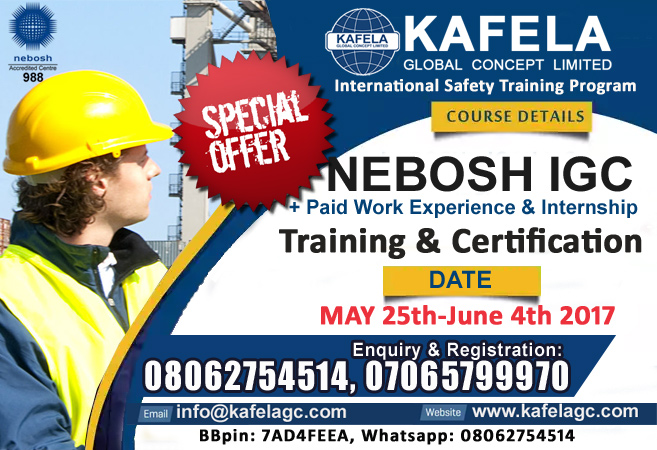 Nebosh International General Certificate In Occupational Health & Safety