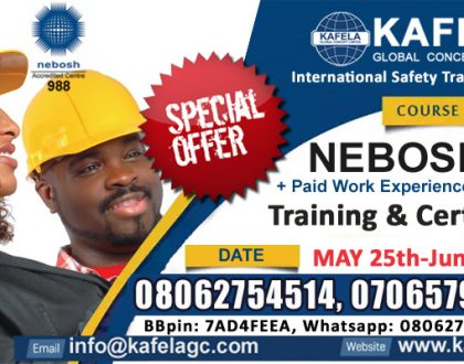 So, which jobs require NEBOSH training?