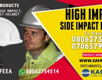 Order Construction Helmet from Kafela PPE Kits Online Store