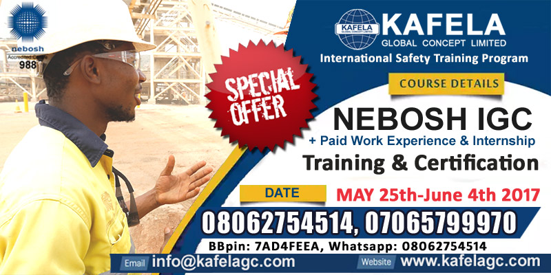 Expectations of a NEBOSH Training Course