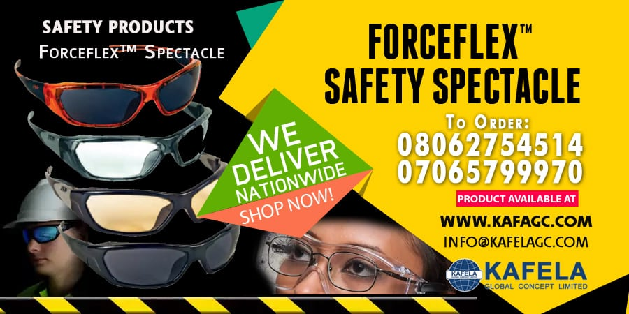 Order Flexible Safety Spectacle from Kafela PPE Kits Online Store