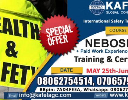 Get NEBOSH IGC Training - Improve your Skills… Boost your Career Opportunities