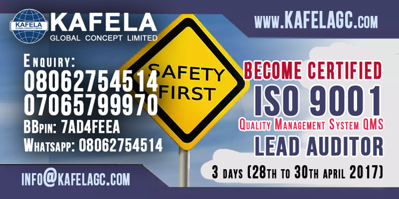 Start and Boost your Safety Career Now With ISO 9001 Lead Auditor