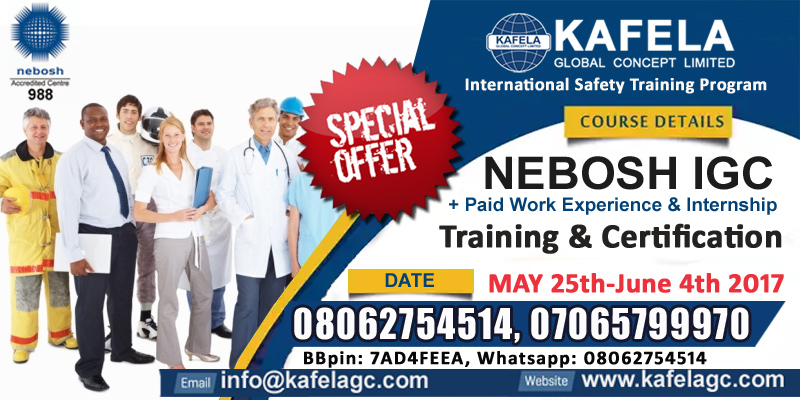 Start and Boost your Safety Career Now With Nebosh IGC