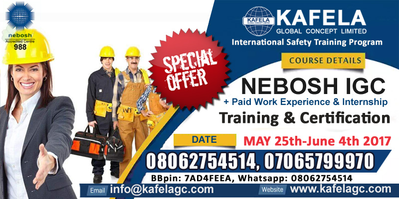 What to look for in a NEBOSH Training Provider