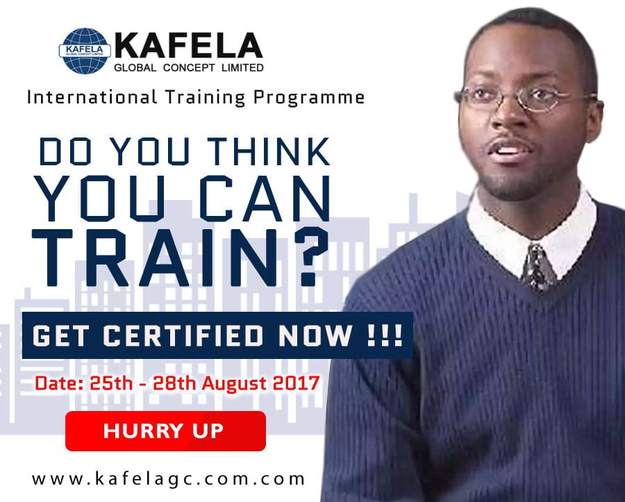 Do You Think You Can  Train? Get Your International Certification Now